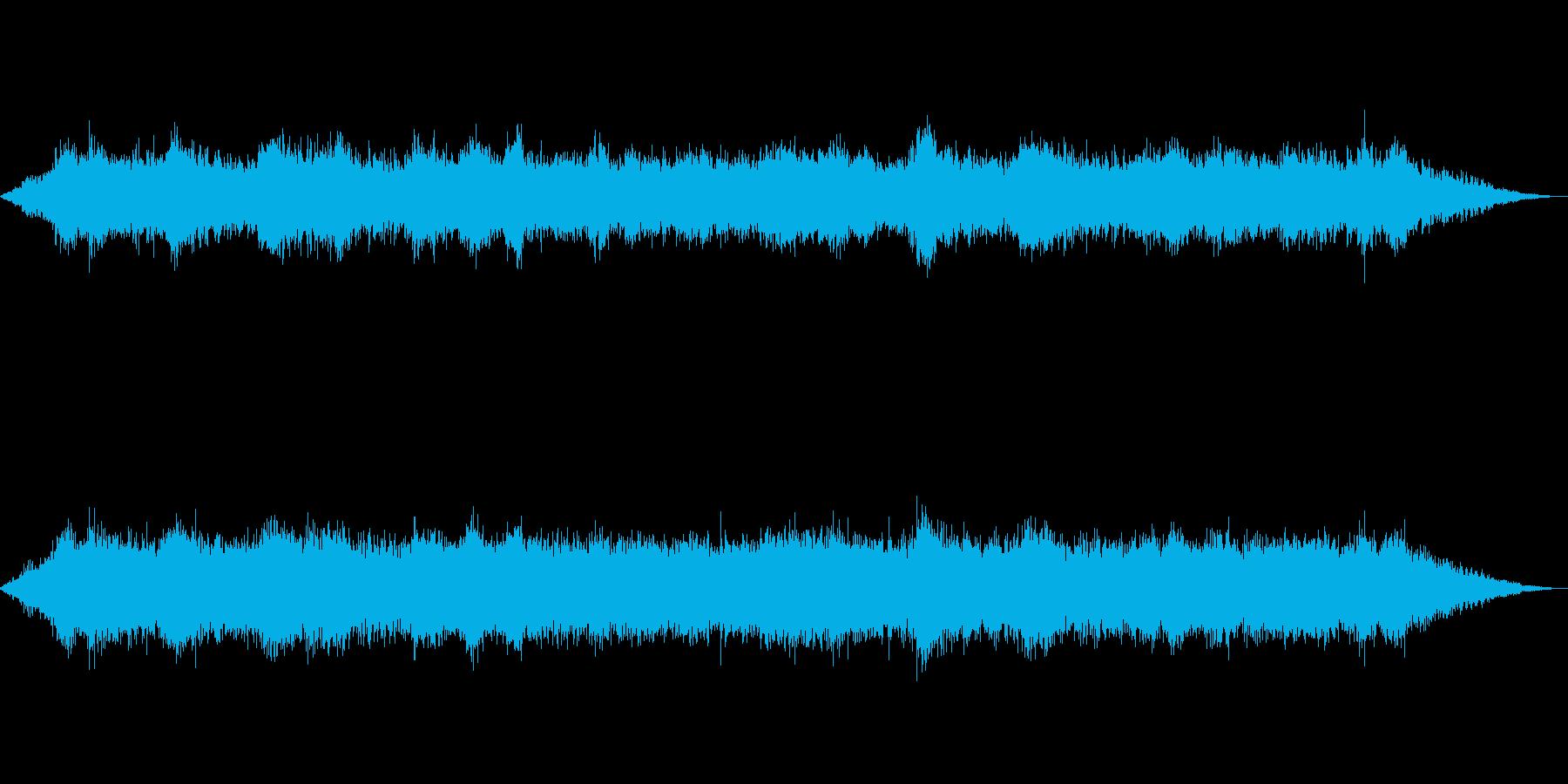 海 波 浜辺 海岸 カモメ等の環境音07の再生済みの波形