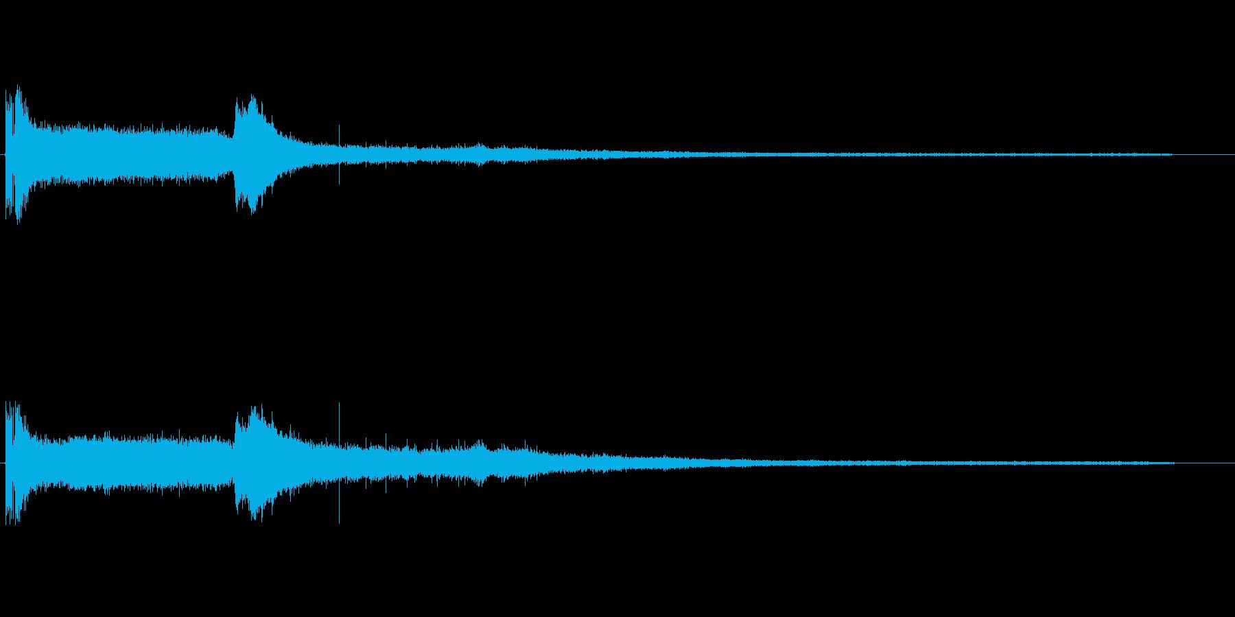 EXT:START、IDLE、PU...の再生済みの波形