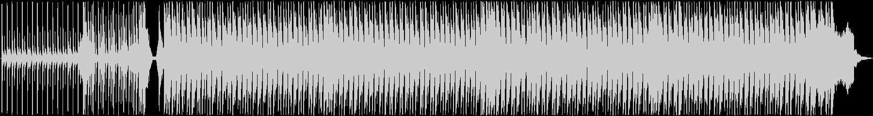 キラキラふわふわなかわいいBGMの未再生の波形