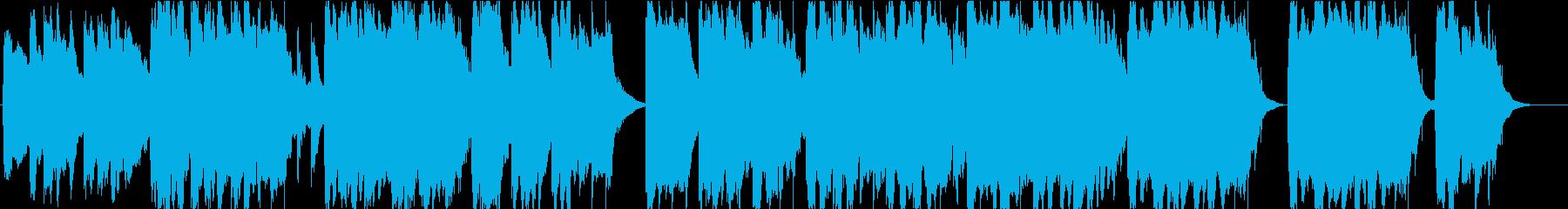 哀愁のある幻想的でノスタルジックなBGMの再生済みの波形