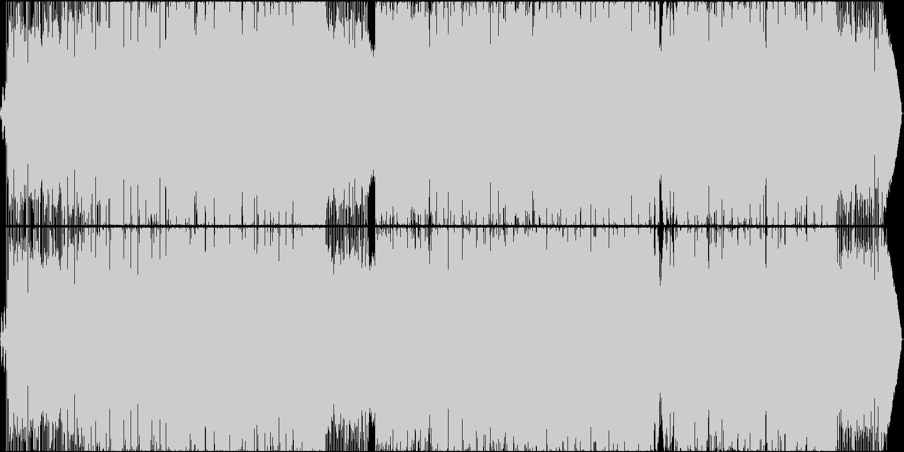 切なく淡い卒業ソングの未再生の波形