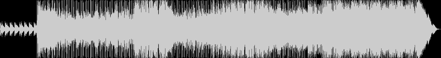 トレモロギターとソアリングコーラス...の未再生の波形