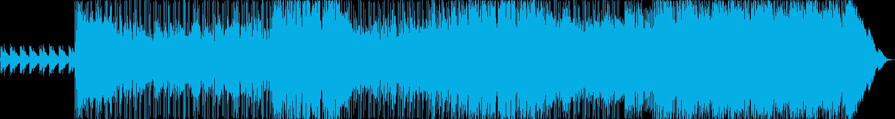 トレモロギターとソアリングコーラス...の再生済みの波形