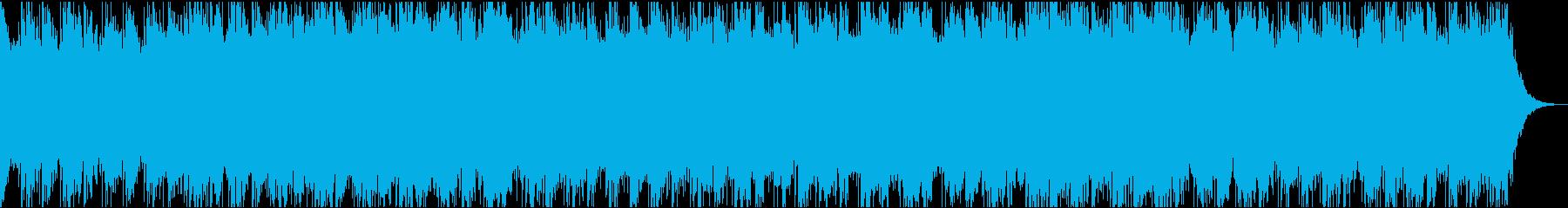 土着信仰・不気味な曲の再生済みの波形