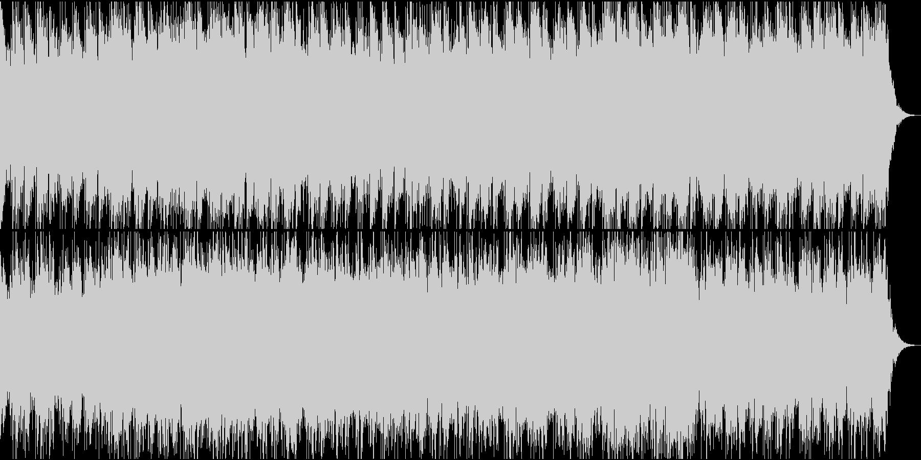 土着信仰・不気味な曲の未再生の波形