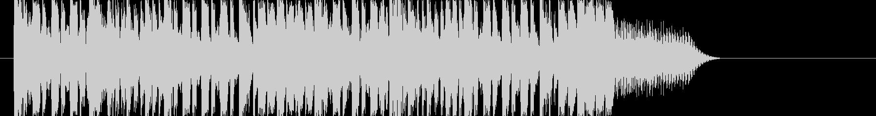 EDM ダブステップ ジングルの未再生の波形