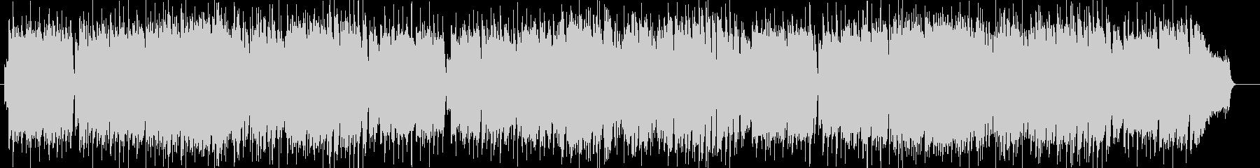 ノスタルジックなギターシンセポップの未再生の波形