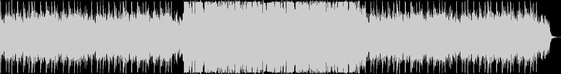 切ないシンセ・ピアノのサウンドの未再生の波形