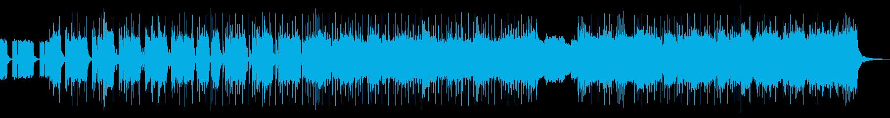 勢いがあるかっこいいロックの再生済みの波形