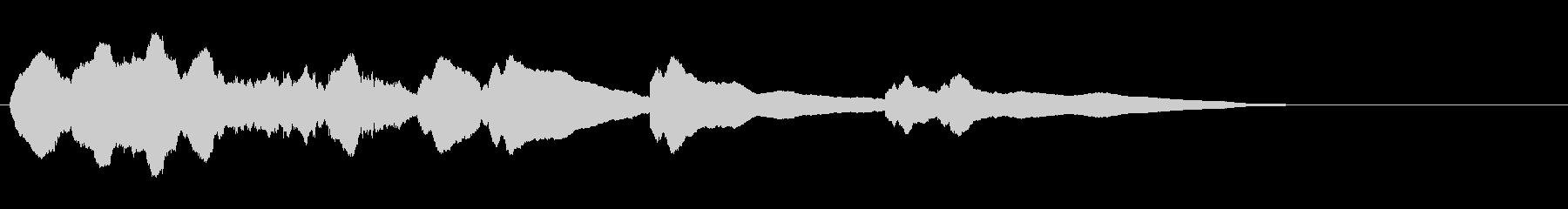 生音エレキギター3弦チューニング2エコーの未再生の波形