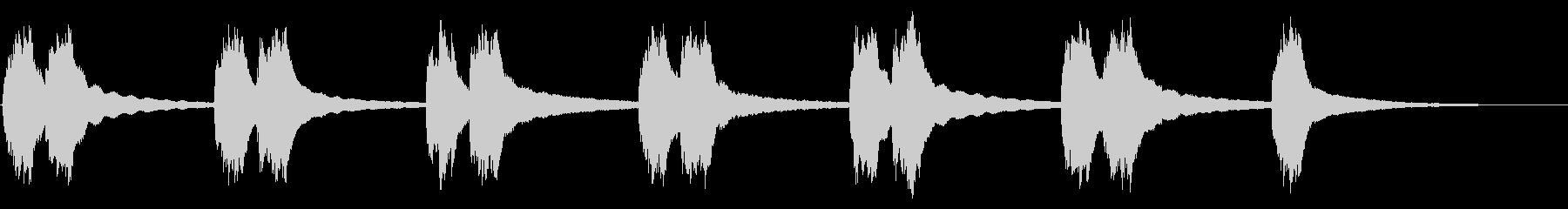 ヴィンテージ1960年代のロータリ...の未再生の波形