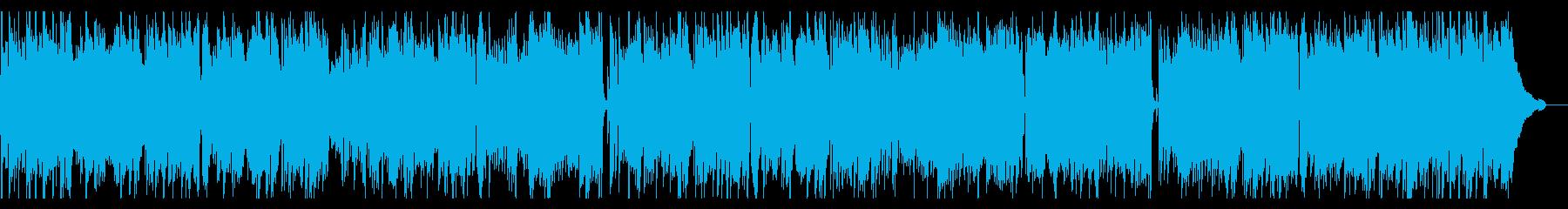 ピアノトリオ、ゴキゲンでハッピーなジャズの再生済みの波形