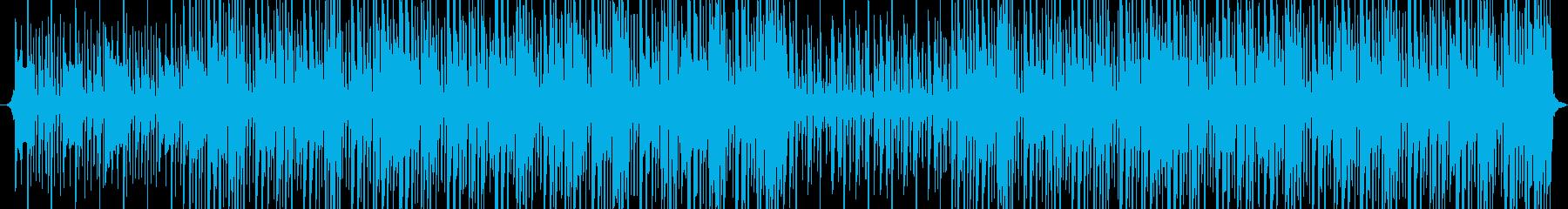 クールな高揚する明るい溝のテーマの再生済みの波形