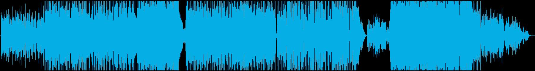 グレゴリオの再生済みの波形