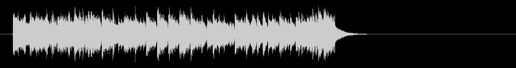 心が弾むOP向けポップス(イントロ)の未再生の波形