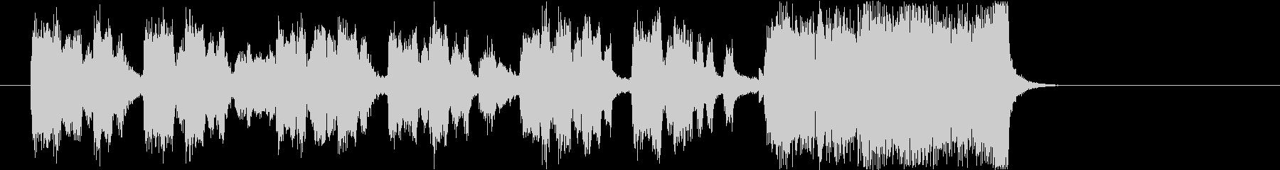ビッグバンドのジングル3key=Bbの未再生の波形