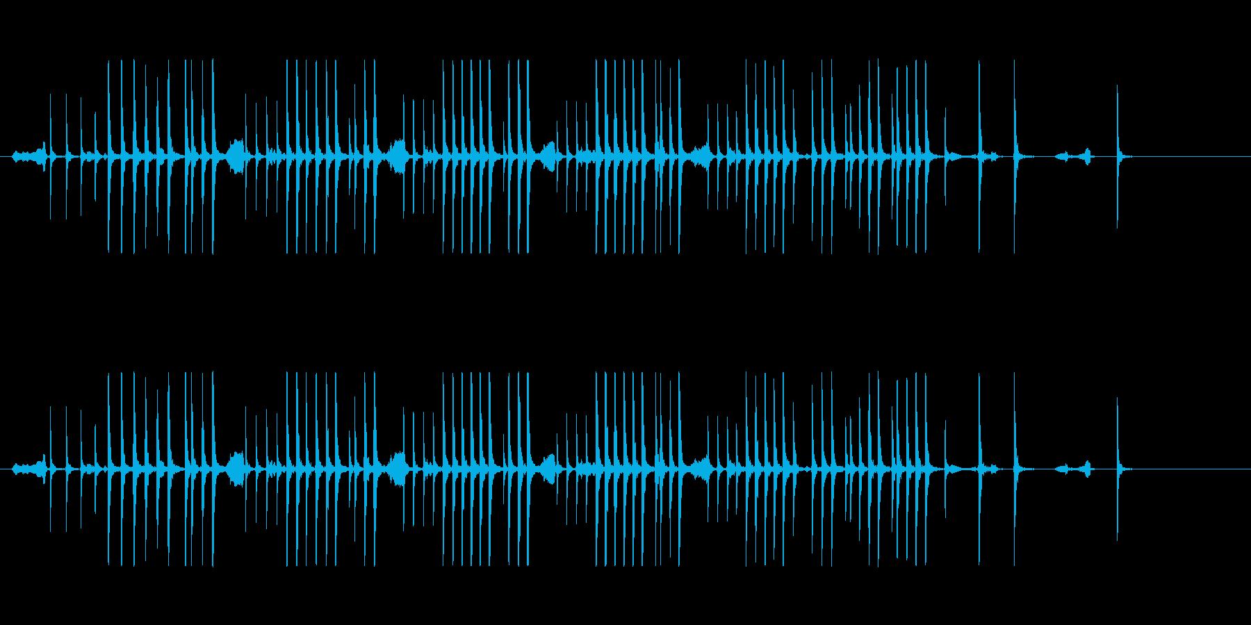 鼓16急の舞風和風歌舞伎アジアンイヨーポの再生済みの波形