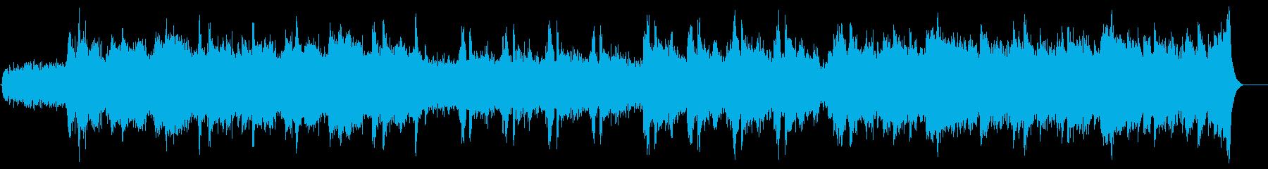 ドキュメンタリー系 厳冬の大地風サウンドの再生済みの波形