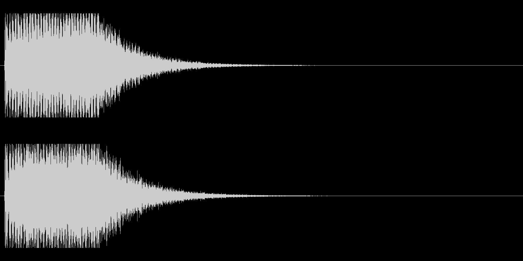 レーザー音-152-2の未再生の波形