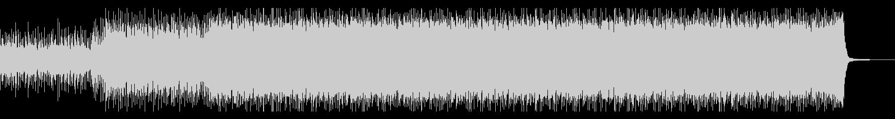 バトルシーン用のドラムンベースの未再生の波形