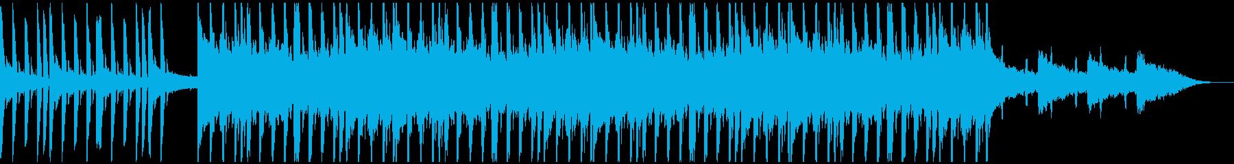 クラップの音が気持ち良い爽快なハウスの再生済みの波形