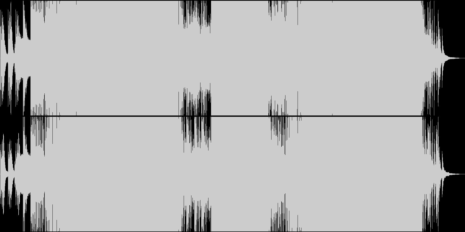 オープニングにふさわしい明るいEDMの未再生の波形