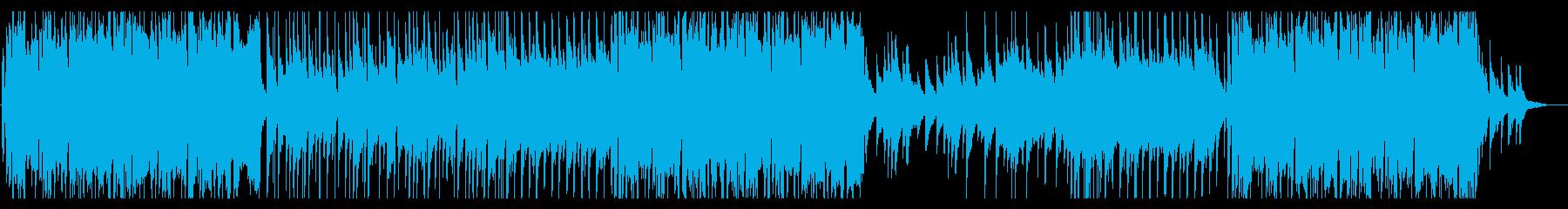優しいストリングスのポップバラードの再生済みの波形