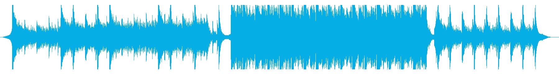 ハリウッド映画風の壮大オーケストラ14の再生済みの波形