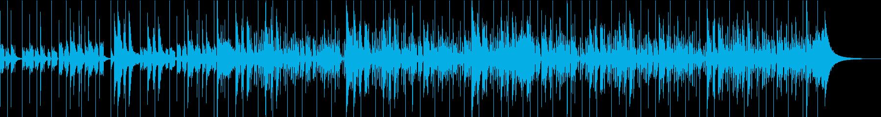 ストレートな8ドラムの感触でエスニ...の再生済みの波形
