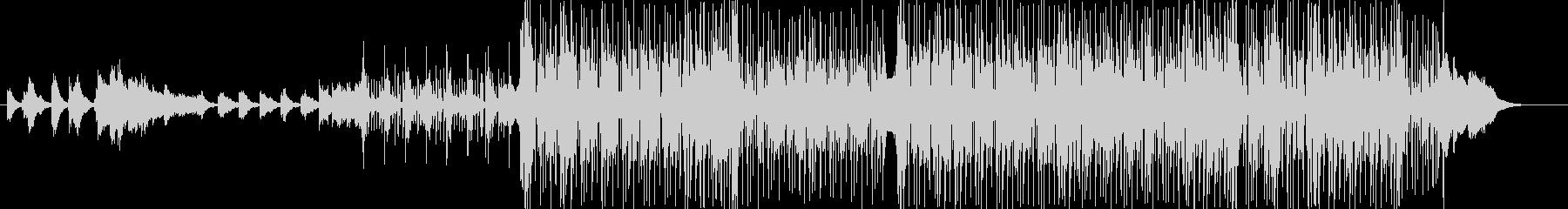 シャッフル(3連)のビートを基調にした…の未再生の波形