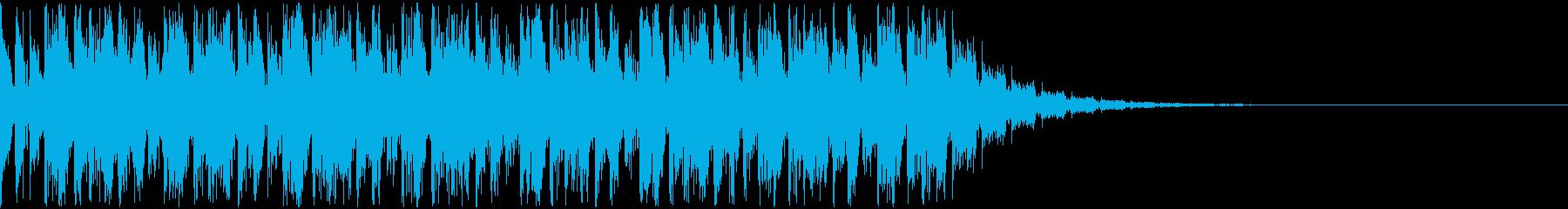 【EDM】トランス、ロング7、ショート1の再生済みの波形