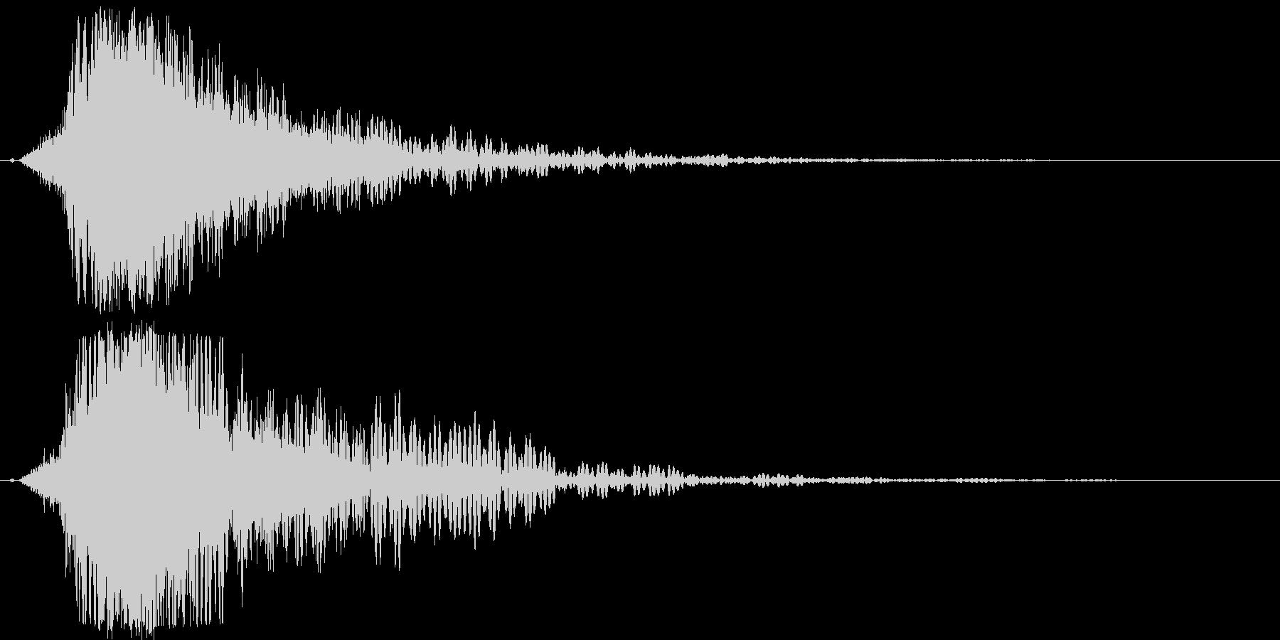 シャキーン♪クリア,達成,回復等に最適2の未再生の波形
