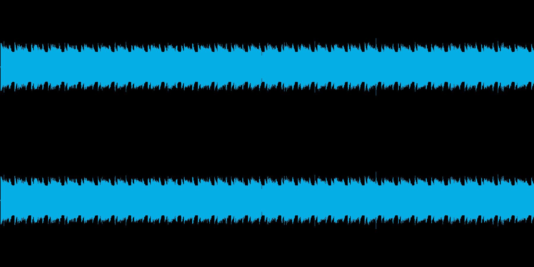チップチューンの軽快な短いループ1の再生済みの波形