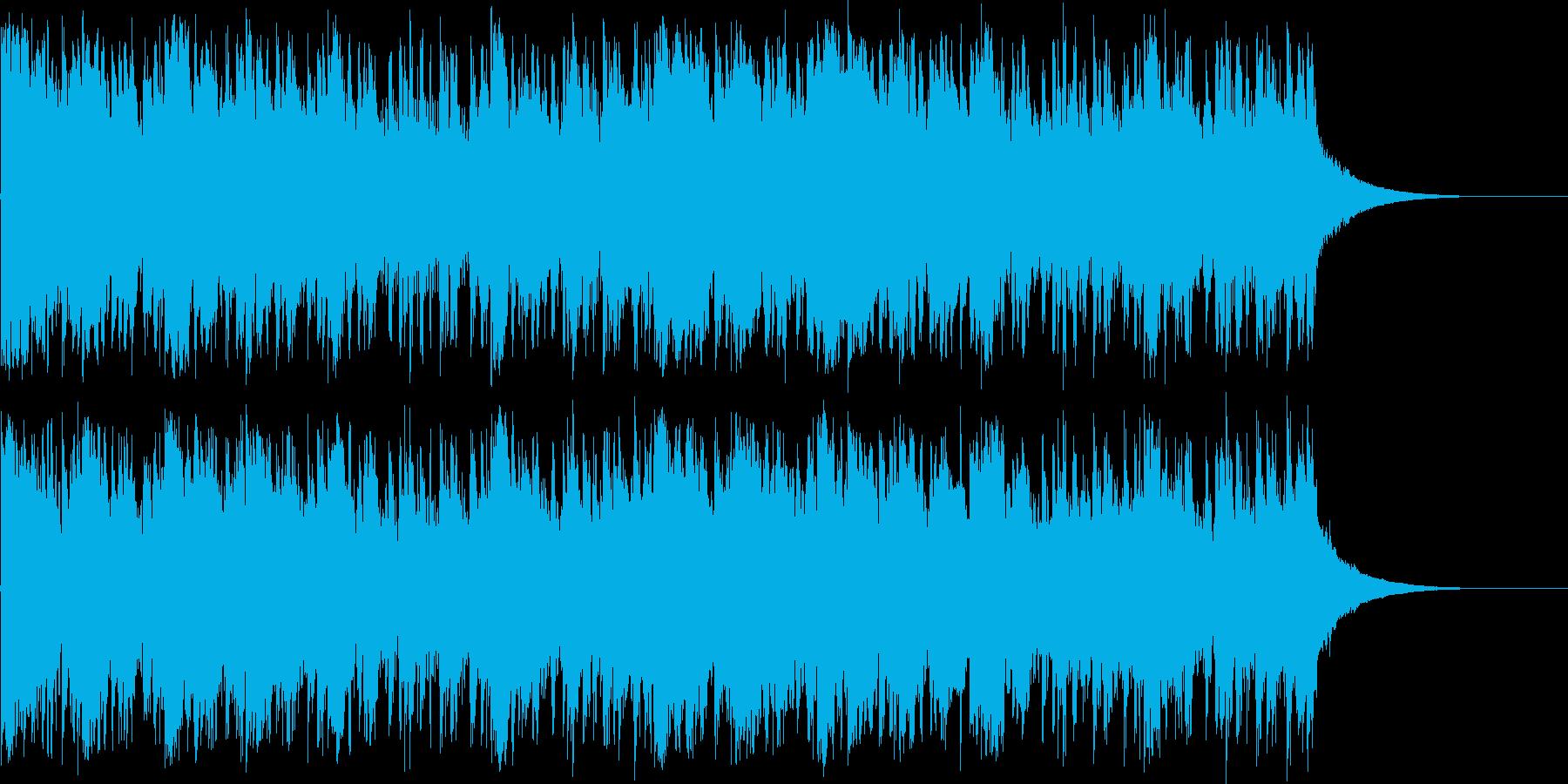 【アコギ生演奏】爽やで、軽快なBGMの再生済みの波形