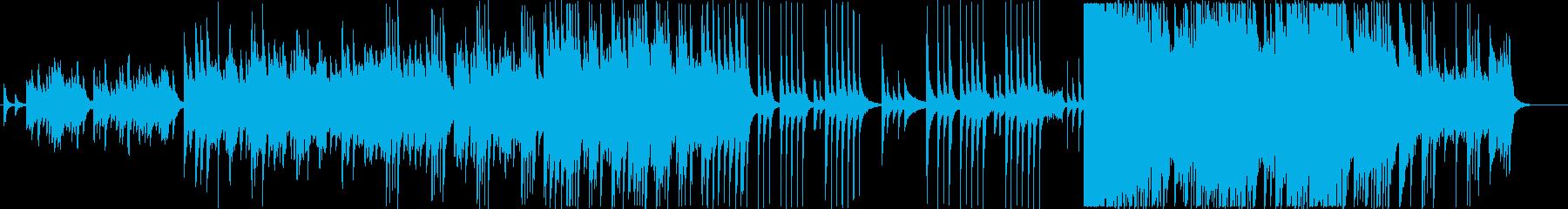 華やかに響く壮大な和のBGMの再生済みの波形