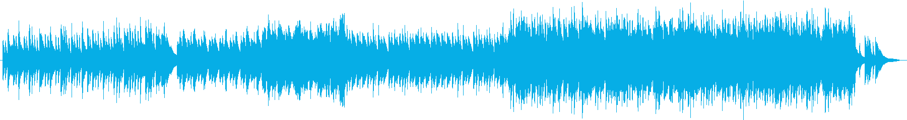 沖縄風のピアノ和曲の再生済みの波形