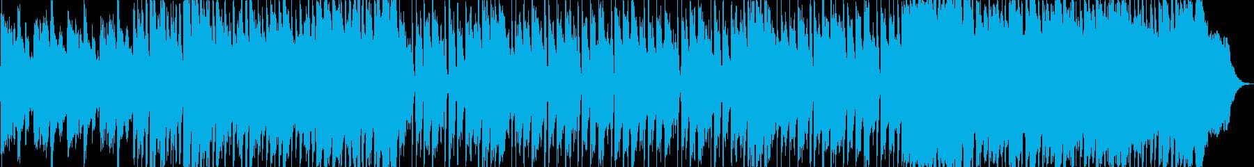 ほのぼのした雰囲気のジングルの再生済みの波形