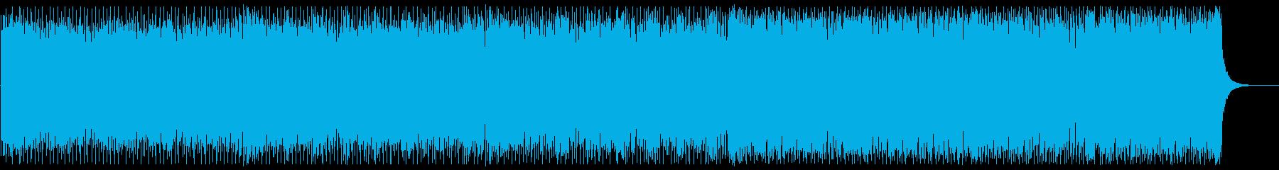スムースでオシャレなフューチャーハウスの再生済みの波形