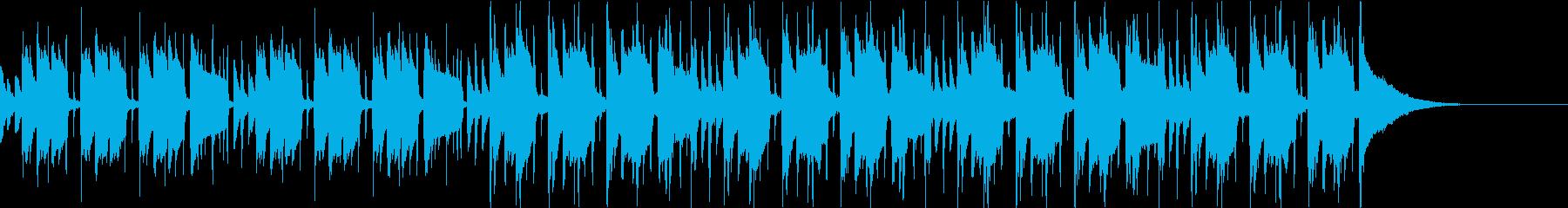 Pf「初動」和風現代ジャズの再生済みの波形