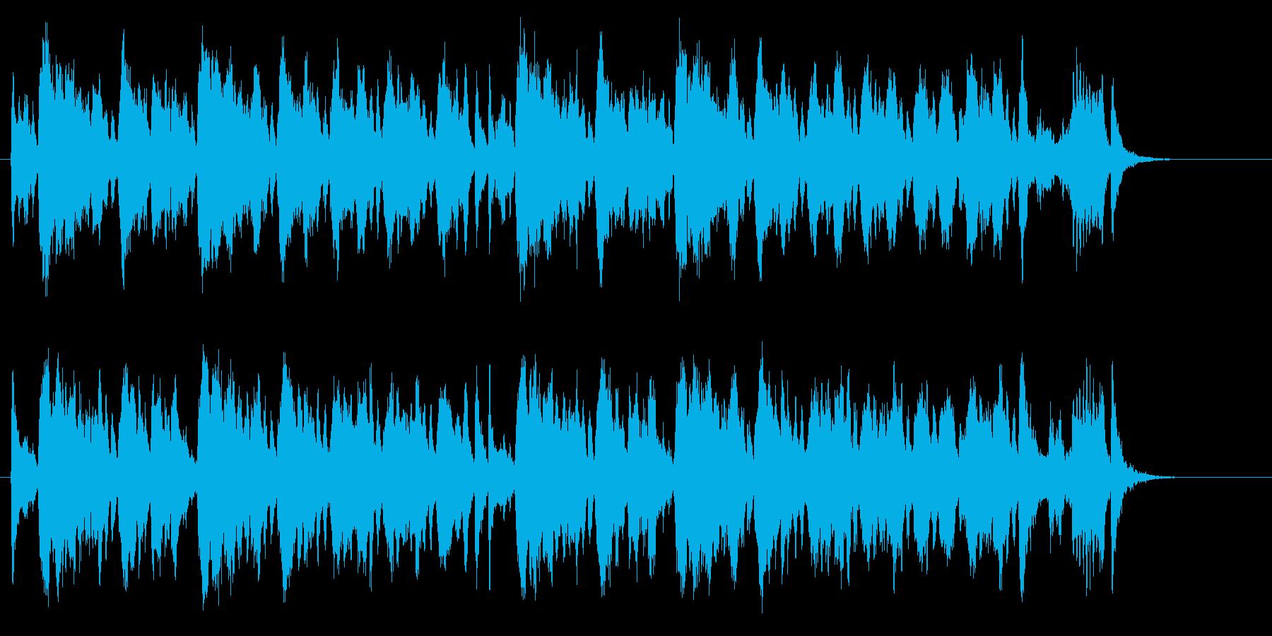 優美で格調高い室内弦楽クラシック風BGMの再生済みの波形