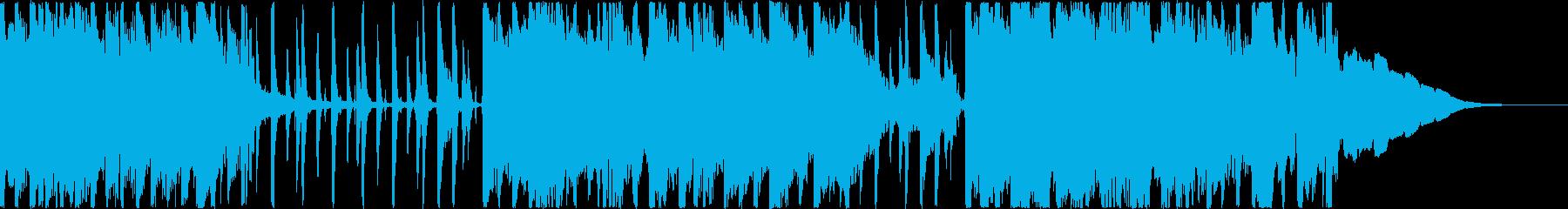 落ち着いたスローテンポのポップの再生済みの波形