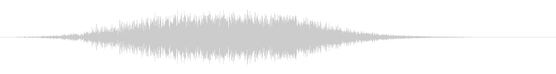 スイープ5によるアプリケーションパスの未再生の波形