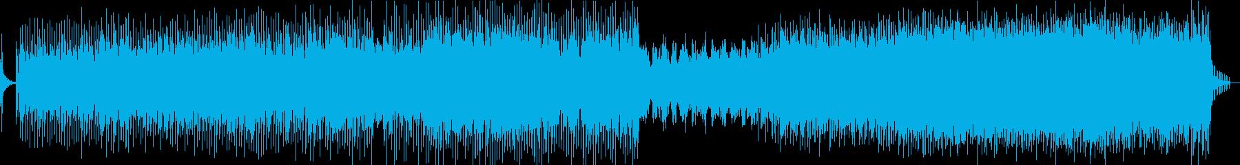 ドラマチックなサウンドスケープとシ...の再生済みの波形