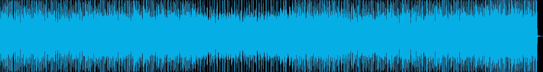 Cool, fashionable, trap BGM's reproduced waveform