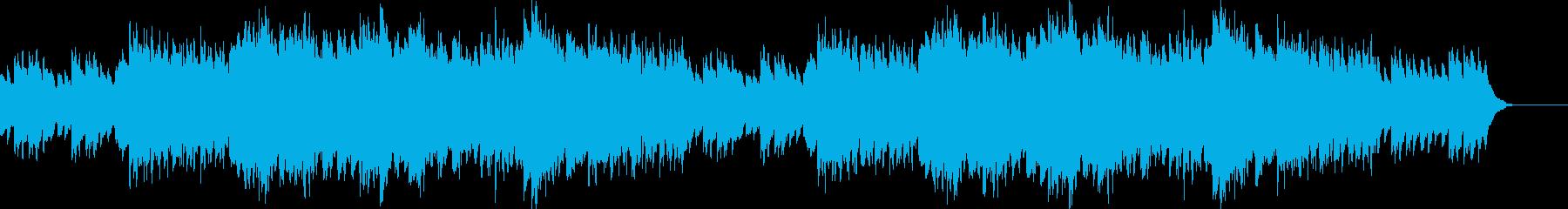 のどか・牧歌的・感動自然(花畑・海・山)の再生済みの波形