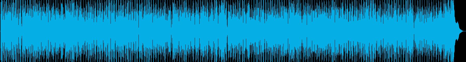心からのハッピー感を感じるスカビートの再生済みの波形
