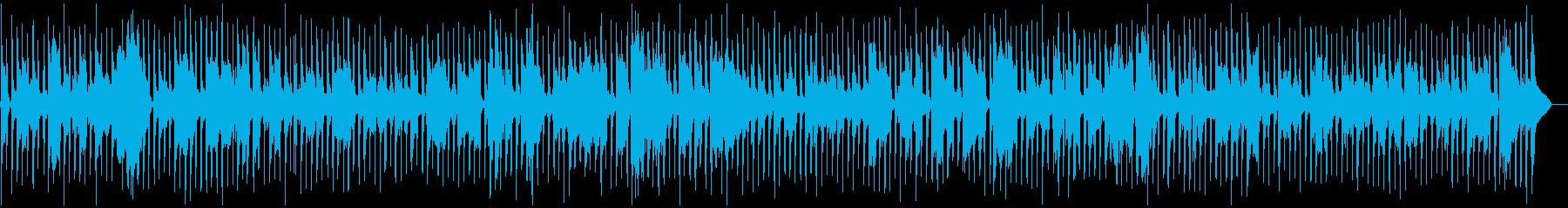 フレンチワルツ、旅番組などのBGMの再生済みの波形