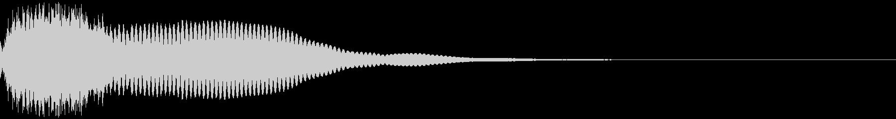 カットイン テロップ 商品 割引 05の未再生の波形