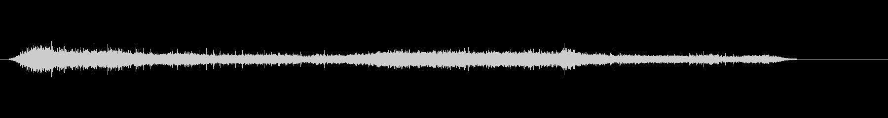 拍手5の未再生の波形