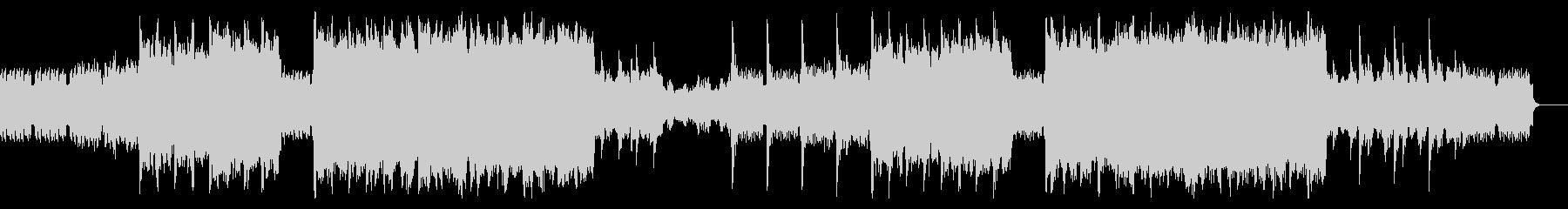 ミステリアスなピアノアンビエントの未再生の波形